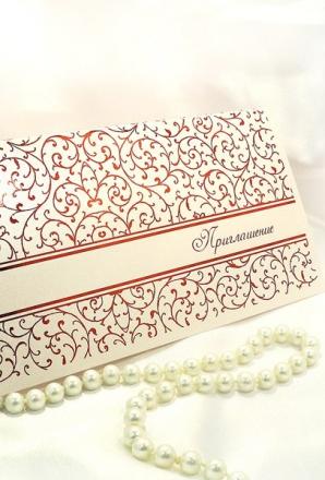 Приглашение на свадьбу (СВ-027)